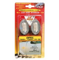 Frecce laterali a Led - Opel Tigra, Corsa (93-98) 3 led ad alta luminescenza per