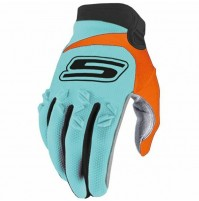 Gants Cross Bleu-Orange M CROSS US omologati© CE