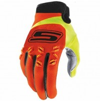 Gants Cross Orange-JauneF S CROSS US omologati© CE