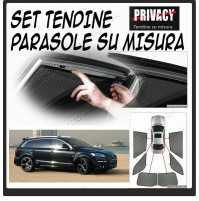 Kit tendine Privacy per  Hyundai i10 (con spoiler) (04/08>10/13)