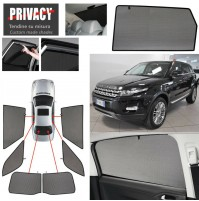 LAND ROVER EVOQUE 5P 04/11 Tendine Privacy su misura oscuranti anti insetto
