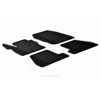 Set tappeti su misura in gomma Ford Focus 5p (03/11>10/14) -  Ford Focus Wagon (