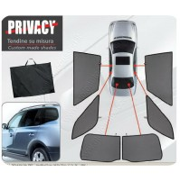 TENDINE AUTO PRIVACY SU MISURA per Opel Insignia Country Tourer e Sports Tourer