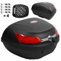 Top Case moto luci di arresto BOX VALIGIA SCOOTER MOTO QUAD 48 Litri